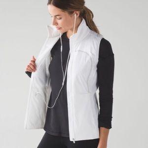 Lululemon white vest